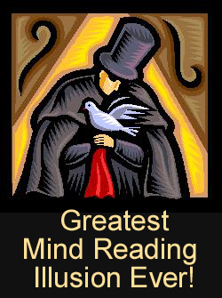 Magic Mind Reading Trick Amazing Party